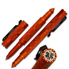 Rettungsdienst Tactical Pen Kugelschreiber Kubotan Kubaton mit Star of Life Logo