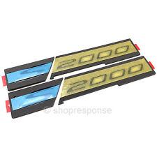 OEM Honda S2000 CR Front Fender S2000 Emblems Badges Black 4 Piece Set Genuine
