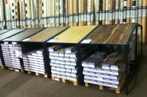 Carpet Stands LAMINATE TABLE STAND 1M WIDE