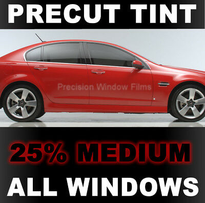 Automotive Window Film Precut Window Tint Kit Full Truck with 3 Piece Slider Rear: 5/% Fits: 2007-2013 GMC Sierra 1500 Crew Cab Truck