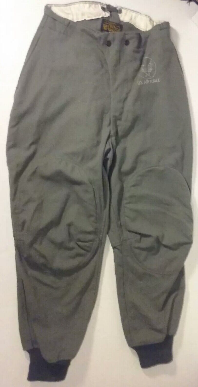 Vintage US Air Force Flying Trousers Type E-1B 50s Wool Pants Size 34 Military