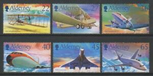 Alderney-2003-Alimente-Vol-Aviation-Ensemble-MNH-Sg-A204-9