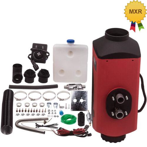 5KW Luftheizung Diesel Standheizung mit Schalldämpfer Knopfschalter KFZ LKW