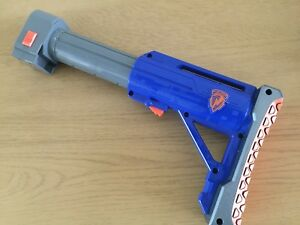Nerf Elite NStrike Extendable Shoulder Stock Raider Attachment Accessory STRYFE - leicestershire, Leicestershire, United Kingdom - Nerf Elite NStrike Extendable Shoulder Stock Raider Attachment Accessory STRYFE - leicestershire, Leicestershire, United Kingdom