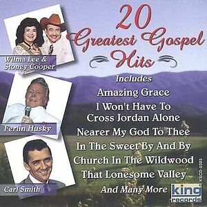 20-Greatest-Gospel-Hits-Kitty-Wells-Carl-Smith-Little-Jimmy-Dickens-Audio-CD
