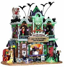 Lemax 25324 HEEBIE-JEEBIES'S ROCK CLUB Spooky Town Building Halloween Decor I