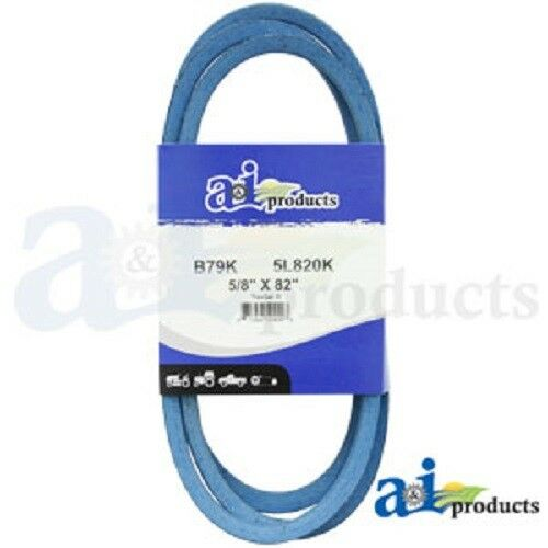 "V BELT B130K B-SECTION MADE WITH KEVLAR 5//8/"" X 133/"" BLUE"