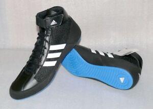 Details zu Adidas Performance HVC G96982 Herren Wrestling Schuhe Freizeit Boots Black Gr 48