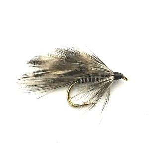 x 6 Mosquito Larva Bass, Bream, Trout, Salmon Fly Fishing Flies
