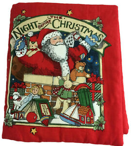 The-Night-Before-Christmas-Soft-Fabric-Cloth-Book-Finished-Baby-Toddler-Book