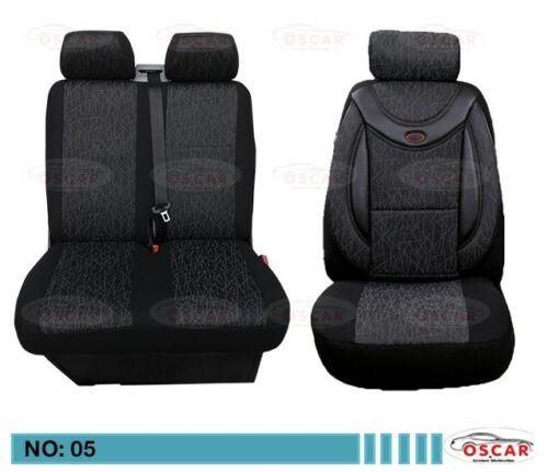 MAß Schonbezüge Sitzbezüge Sitzbezug  PEUGEOT BOXER  1+2 Sitzer  05