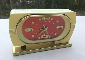 Vintage-Mechanical-Alarm-Clock-Diamond-China-Shanghai-Chinese-Old-Collectible