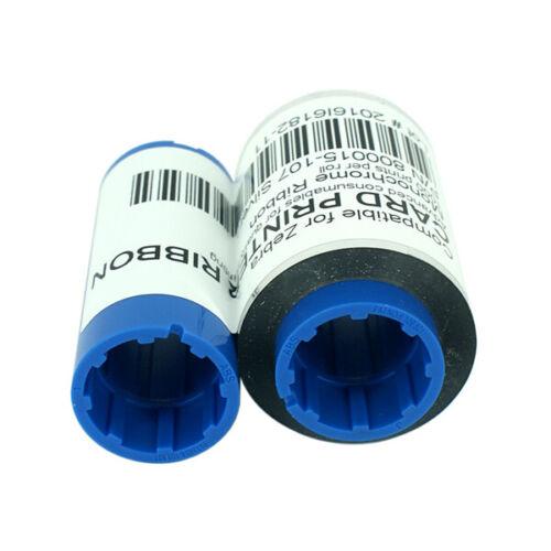 800015-107 Silver Ribbon For Zebra P300 P310 P320 Printer 1000 Print Images