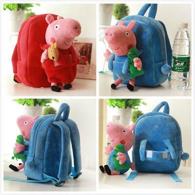 Gut Ausgebildete Kleinkind Schultasche Rucksack Herausnehmbare Neu Peppa Pig Plüschtiere Rucksack Preisnachlass