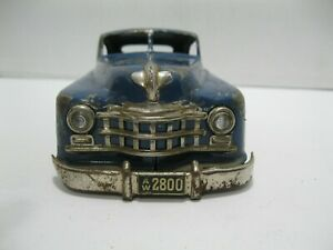 Vintage-Arnold-Primat-Tinplate-Car-Made-In-Germany-1950-039-s