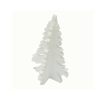 6x Weihnachtsbaum Styropor Weihnachten Schnee Winter Deko Advent Figur E8401