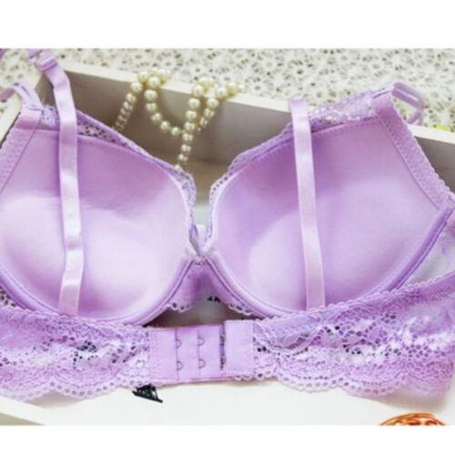 Women Lingerie Panties Sets /& Push Up Bra Panty Sets Embroidery Deep V Lace Bras