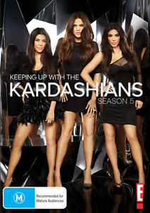 Keeping-Up-with-the-Kardashians-Season-5-NEW-DVD-Region-4-Australia