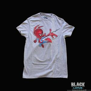 NEW-Spider-Ham-Spider-Man-Into-The-Spiderverse-T-Shirt-Shirt-size-Medium