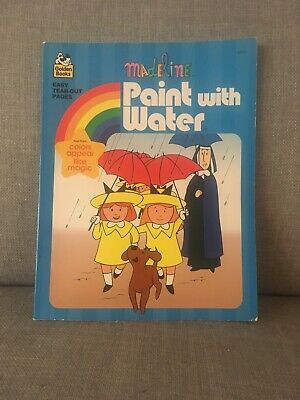Madeline Paint with Water Golden Books 1996 Vintage unused ...
