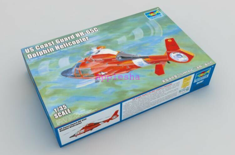 Trumpeter 05107 1 35 USN Coast Guard HH-65C Dolphin