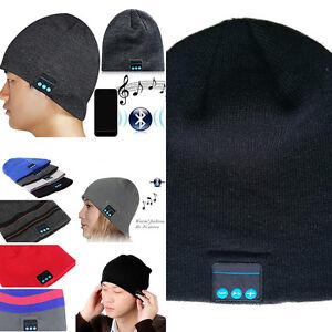 Drahtlose-Bluetooth-Strickmuetze-mit-freihaendiger-Kopfhoerer-fuer-Handy