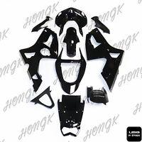Black Fairing For Kawasaki Ninja Zx6r Zx-6r Zx 6r 636 2003 2004 Injection Abs