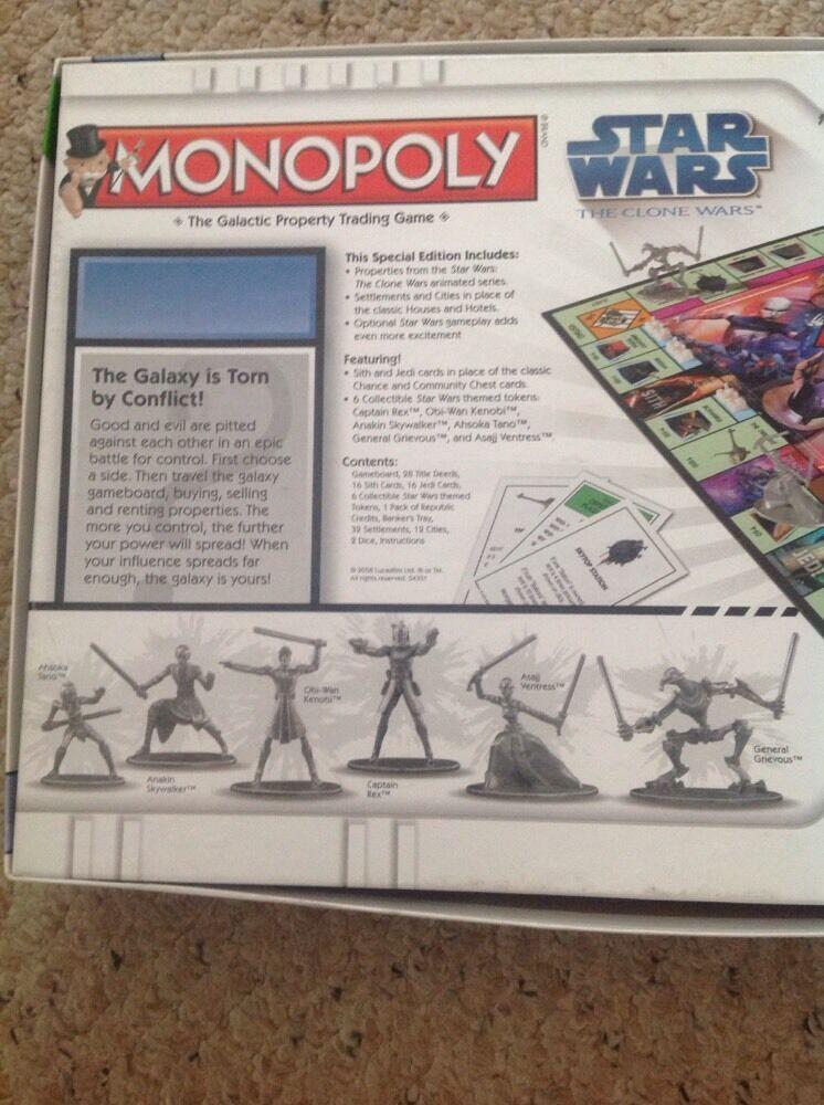 Das star - - - wars - den klonkriegen edition.verwendet, aber komplett. aadf04