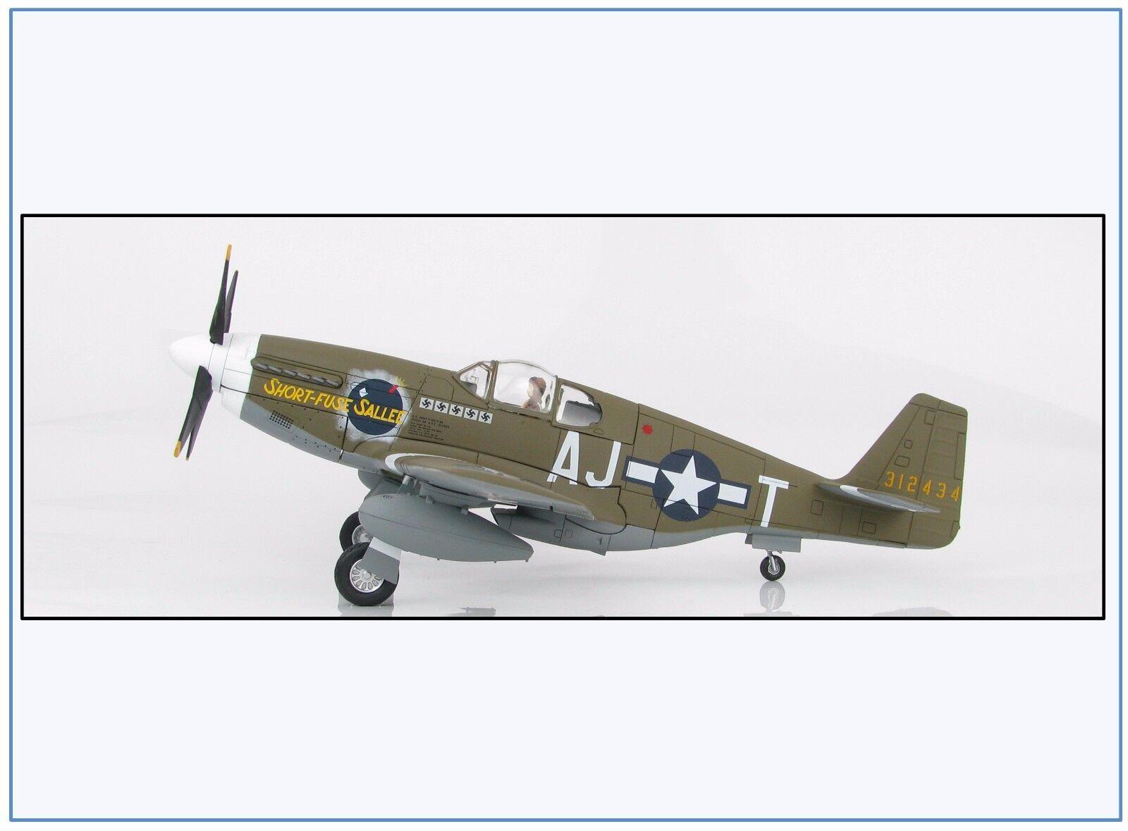 Ha8509 p-51b USAAF 356 thfs  Short Fuse SALEE , 1944, HOBBYMASTER 1:48, nuovo 2/17 &