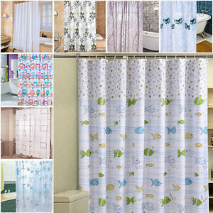 Cortinas De Baño Divertidas   Funny Shower Curtain With Hooks Multi Pattern Owl Animal Curtains