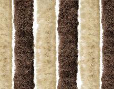 Plüschvorhang Chenille Türvorhang Plüsch Tür Vorhang Insektenschutz 90 x 200 NEU