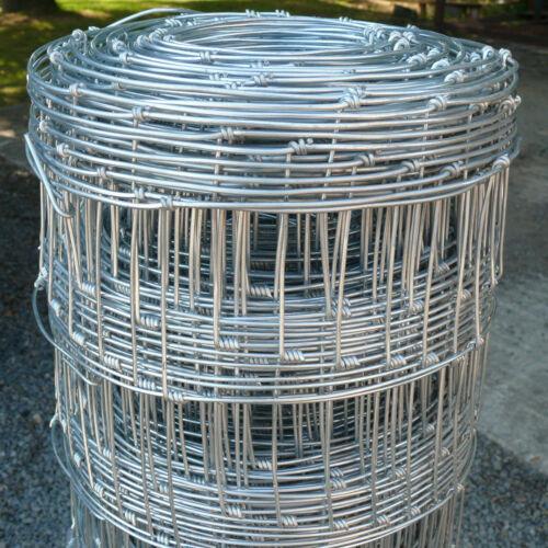Wire Stock Fencing C8//80//15 Livestock Farm Field Fence 0.8x50m Galvanised Metal