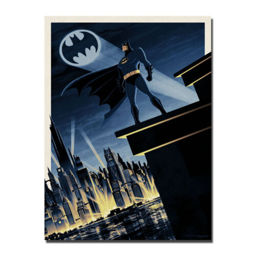 Batman Poster DC Comics Super Hero Art Animated Canvas Poster 8x11 32x43/'/'