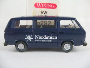 Wiking-13292-VW-t3-combi-1979-1992-034-Estrella-del-Norte-en-034-azul-acero-nuevo-1-87-h0-embalaje