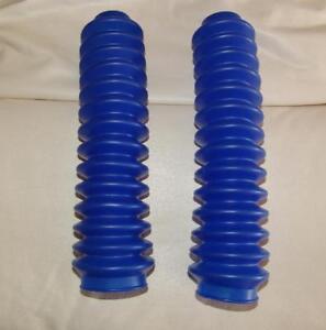 Honda-ATC-250R-350X-Front-Fork-Shock-Boots-BLUE