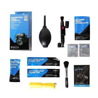 VSGO Camera Cleaning Travel Kit for Camera 19pcs Mobile Phones Screen Lens