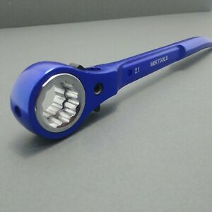 Mek-Aluminium-Scaffold-Spanner-Ratchet-podger-19-21-BLUE