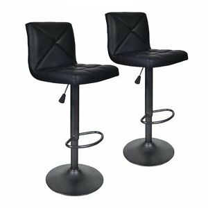 NEW-2-PU-Leather-Modern-Adjustable-Swivel-Barstools-Hydraulic-Chair-Bar-Stools22