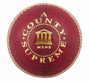 Readers County Supreme A Red Cricket Ball All Sizes Free UK Postage