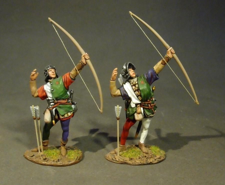 John Jenkins Guerra de los Roses hlanc - 16 Lancastrian arqueros Menta en caja
