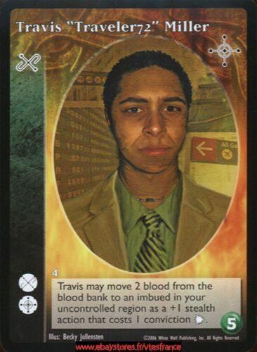 "Travis /""Traveler72/"" Miller Nights of Reckoning VTES V:TES Martyr"