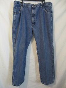 Coton 2 Rise Wrangler Hommes 1 30 Jeans 100 X 42 Utilisé Pouce 13 w4Hx4Yz