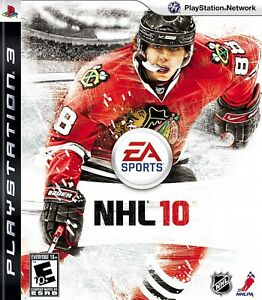 Ps3 Nhl 10 Video Game Official Hockey Players Tournament Action 1080p Hd 2010 14633156836 Ebay