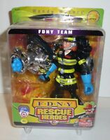 Fdny Team Rescue Heroes Fisher Price Wendy Waters Action Figure York Fireman