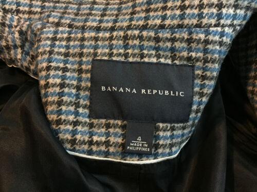 De Casual Republic Laine Carrière À Veste S 4 En Lin Carreaux Bleu Blazer Banana Blazer 4dpOvxwqvf