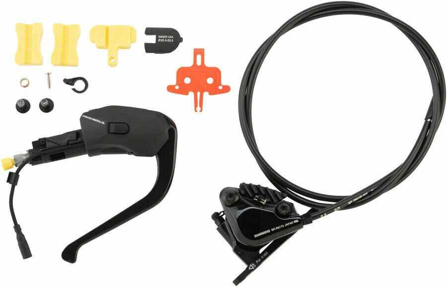 Shimano Dura-Ace ST-R9180 Di2 TT Shifter Hydraulic Brake Lever Set with BR-R9...