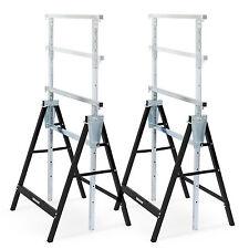 Gerüstbock Klappbock Baugerüst Gerüst Teleskop klappbar Stahl - 2 Stück