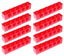 Missing Lego Brick 3894 Red x 8 Technic Brick 1 x 6