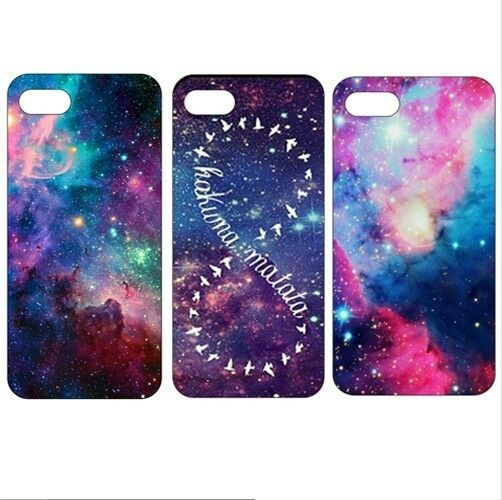 Galaxy retro vintage Pattern Hard Back Skin Case Cover For iPhone 4 4S 5 5S 5C 6