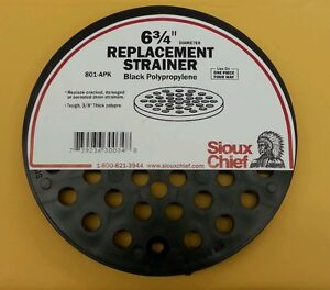 Image Is Loading Sioux Chief Floor Drain Cover 6 3 4